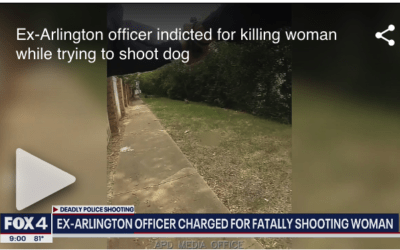 Ex-Arlington officer indicted for killing woman while trying to shoot dog